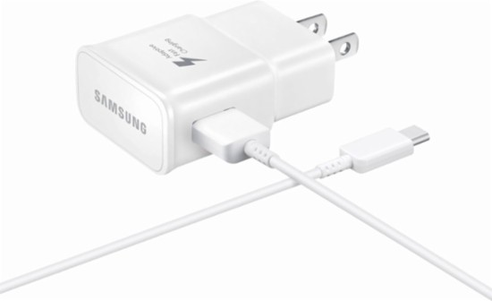Samsung - Fast Charge Wall Charger - White